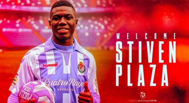 Stiven Plaza Trabzonspor'a imza attı