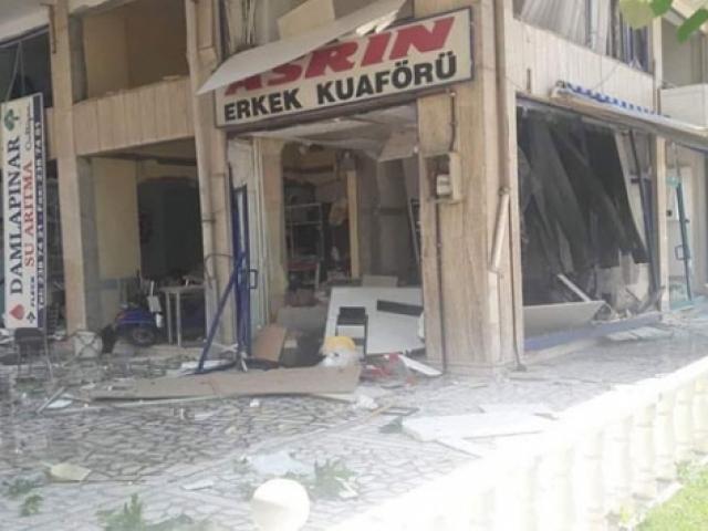 Konya'daki doğal gaz patlaması kamerada