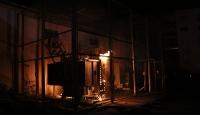 Denizli'de trafo merkezinde yangın