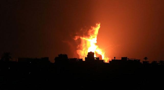 İsrail, Hamasa ait gözetleme noktasını vurdu
