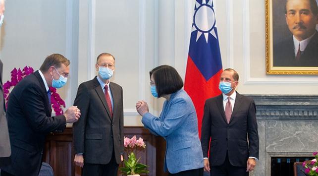 ABDden Tayvana 40 yıl sonra ilk resmi ziyaret