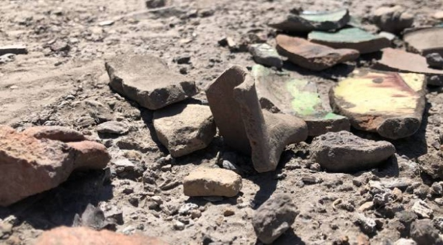 Ani Ören Yerindeki kazı çalışmalarında mescit kalıntısı bulundu