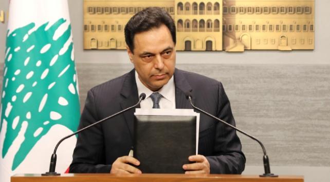 İstifa sonrası Lübnan Başbakanı Diyabdan ilk açıklama