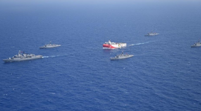Doğu Akdenizde Oruç Reise yakın koruma