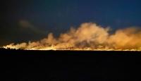 Samsun'da sazlıkta çıkan yangın ormana sıçradı