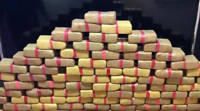 Hakkaride 7 kilo 800 gram uyuşturucu ele geçirildi