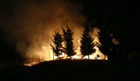 Ankara'da ahşap konak yandı