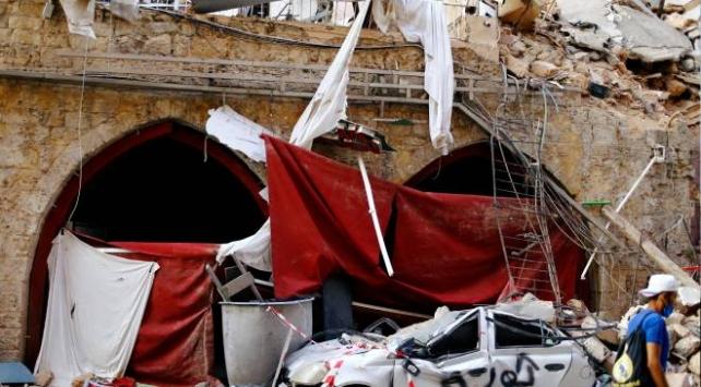Beyruttaki patlamada tarih de yara aldı