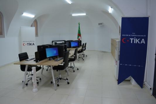 TİKAdan Cezayirin idari altyapısına destek