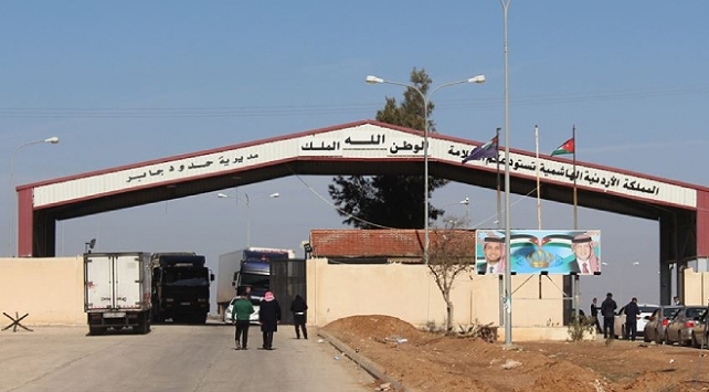 Ürdün, Suriyeye açılan sınır kapısını 1 haftalığına kapatıyor
