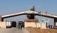 Ürdün, Suriye'ye açılan sınır kapısını 1 haftalığına kapatıyor