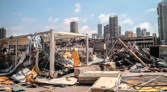 Lübnandaki patlama hastaneleri de vurdu