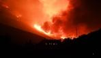 Los Angeles yakınlarında çıkan yangın hızla yayılıyor