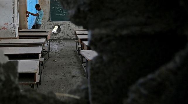İsrail, Gazzedeki bir okula füze saldırısı düzenledi