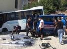 Kocaeli'nde jandarma midibüsü kaza yaptı: 1'i ağır 8 yaralı
