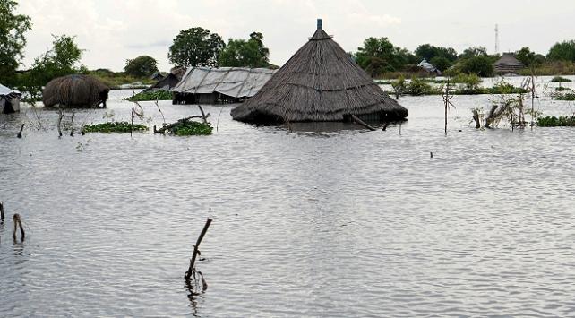 Güney Sudanda sel nedeniyle acil durum ilan edildi