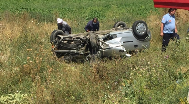 Eskişehirde trafik kazası: 2 ölü, 2 yaralı