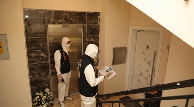 Sivasta polislerden koronavirüs hastalarına evde denetim