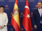 Bakan Çavuşoğlu, İspanyol mevkidaşıyla görüştü