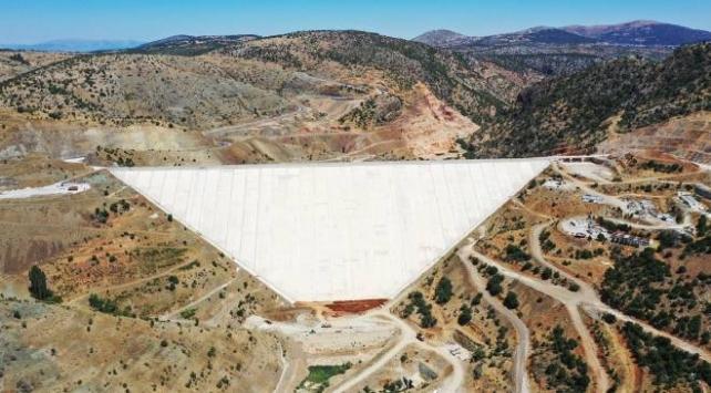 Bozkır Barajı su tutmaya hazırlanıyor