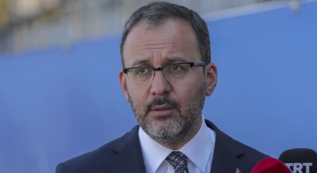 """Bakanı Kasapoğlundan """"sporcu yetiştirme"""" açıklaması"""