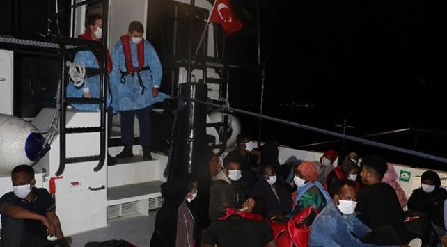 Balıkesirde 24 düzensiz göçmen yakalandı