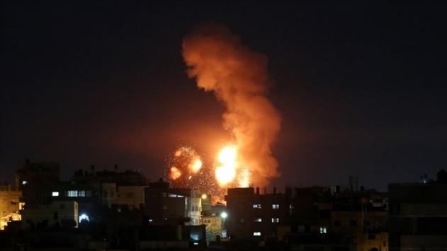 İsrail'den Gazze'ye hava saldırısı - Son Dakika Haberleri
