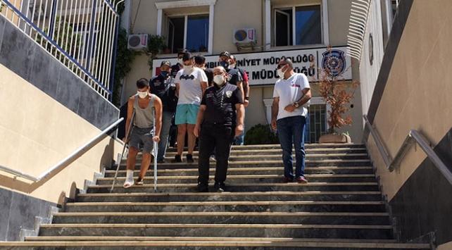 Maltepede bekçilere ateş eden hırsızlık zanlıları tutuklandı