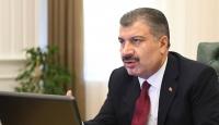 Bakan Koca'dan 15 ilin sağlık müdürleriyle salgın görüşmesi
