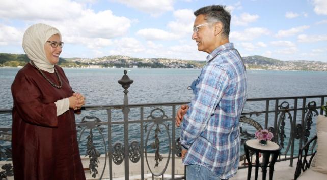 Emine Erdoğan ünlü aktör Aamir Khanı kabul etti