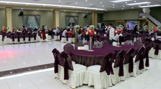 Aksarayda düğünler 2 saatle sınırlandırıldı