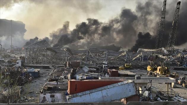 Beyrutta ölü sayısı 179a yükseldi