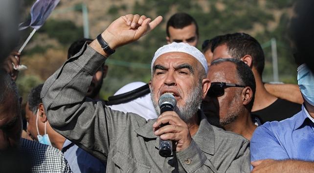 Şeyh Salah hapis cezasını çekmek üzere İsrail makamlarına teslim oldu