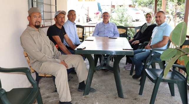 Kırgızistan-Türkiye Manas Üniversitesi Rektörü Ceylandan Kırgız Türklerine ziyaret