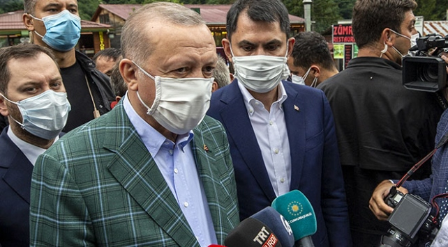 Cumhurbaşkanı Erdoğan: Ayder Yaylasındaki kaçak yapıların yıkımı muhakkak olacak