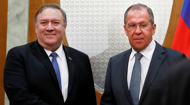 Lavrov ve Pompeo İran nükleer anlaşmasını görüştü