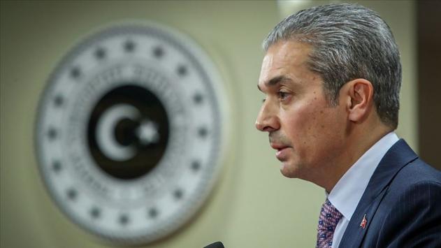 Dışişleri: Ermenistanın Doğu Akdeniz ile ilgili fikir beyan etmesi hadsizlik