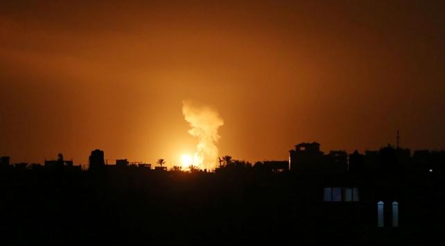 İsrail yine Gazzeyi vurdu