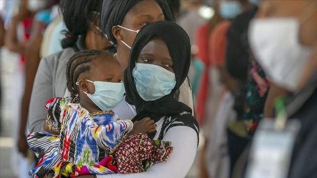 Afrikada COVID-19 vaka sayısı 1 milyon 120 bini aştı