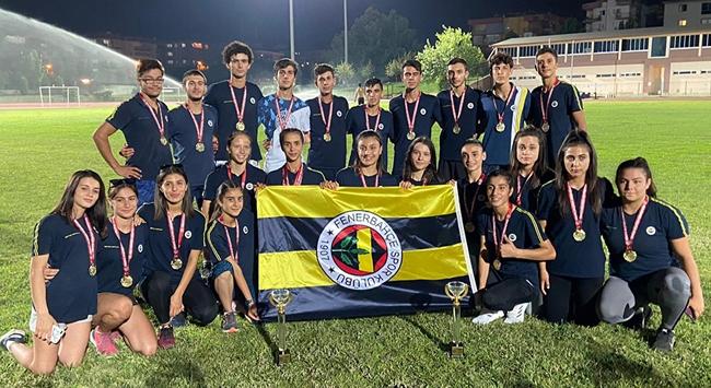Atletizmde şampiyon Fenerbahçe