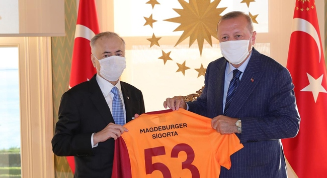 Cumhurbaşkanı Erdoğan Mustafa Cengizi kabul etti