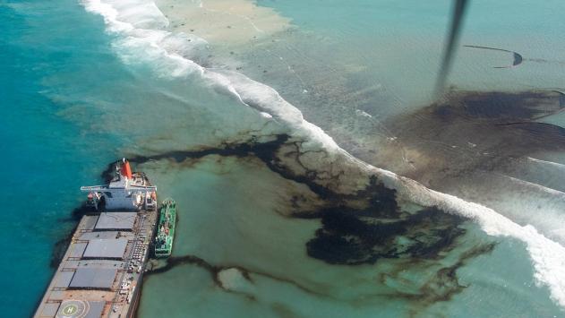Morityusta petrol sızdıran geminin kaptanı tutuklandı