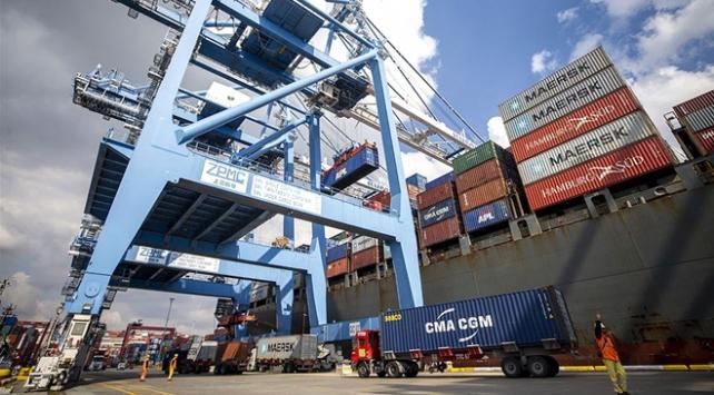 Türkiyenin sanayi ihracatı yılın en yüksek seviyesinde