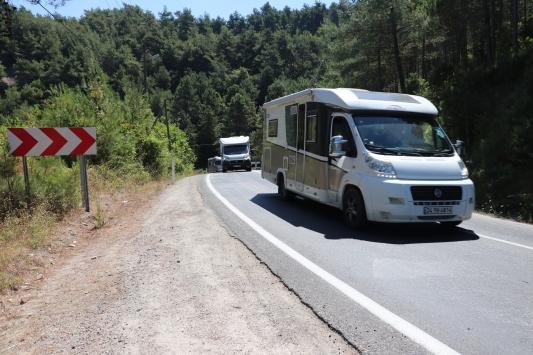 Karadenizde 6 ildeki kamp ve karavan alanlarının tespit çalışması sürüyor