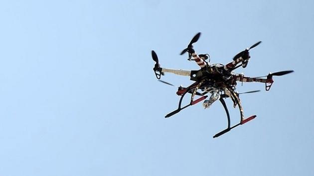 Adanada drone ile trafik denetimi