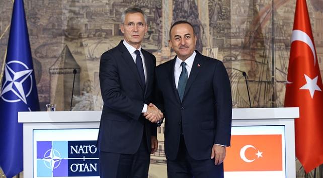 Çavuşoğlu ve NATO Genel Sekreterinden Doğu Akdeniz görüşmesi
