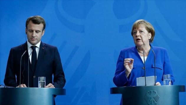 Macron ve Merkelden Doğu Akdeniz açıklaması