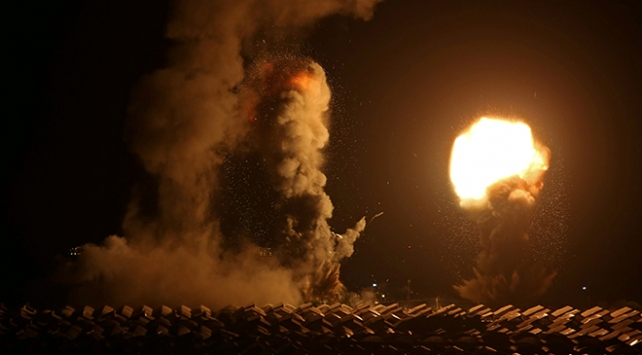 İsrailden Gazzeye üçüncü hava saldırısı