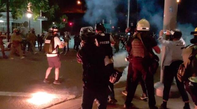 ABDnin Portland kentindeki protestolarda şimdiye dek 500den fazla kişi gözaltına alındı
