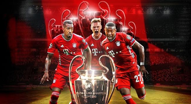 Bayern Münih Şampiyonlar Liginde 6. kupanın peşinde